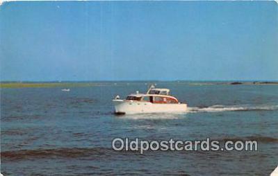 shi053173 - Leaving for the Fishing Grounds  Ship Postcard Post Card