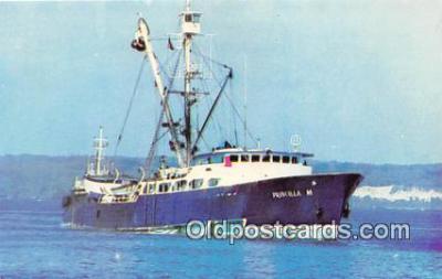 shi053186 - Priscilla M Fishing Sienner Ship Postcard Post Card