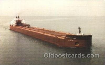 shi055002 - M.V. Mesabi Miner Freight Carrier, Carriers Ship Ships Postcard Postcards