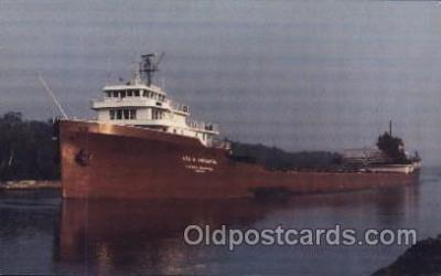 shi055003 - S.S. Lee A. Tregurtha Freight Carrier, Carriers Ship Ships Postcard Postcards