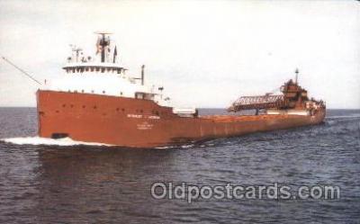 shi055004 - S.S.Herbert C. Jackson Freight Carrier, Carriers Ship Ships Postcard Postcards
