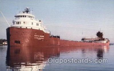 shi055006 - S.S. Kaye E. Barker Freight Carrier, Carriers Ship Ships Postcard Postcards