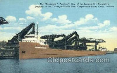 shi055017 - Benjamin F Fairless Freighters, Ship Postcard Postcards
