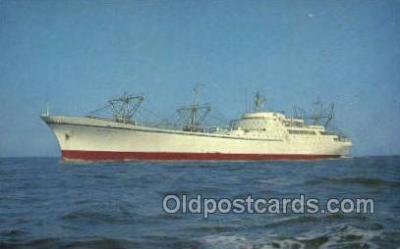 shi055019 - Nuclear Ship Savannah Freighters, Ship Postcard Postcards