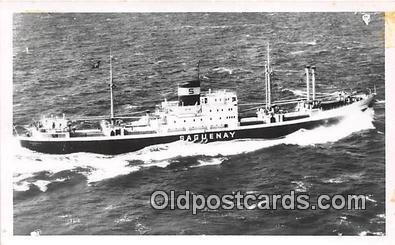 shi055027 - Saguenay  Ship Postcard Post Card