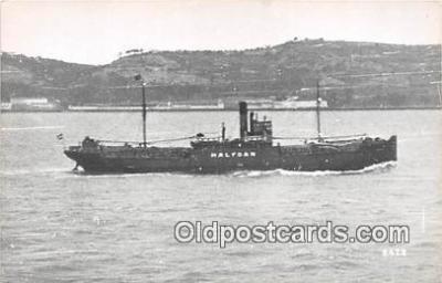 shi055028 - Halfoan  Ship Postcard Post Card