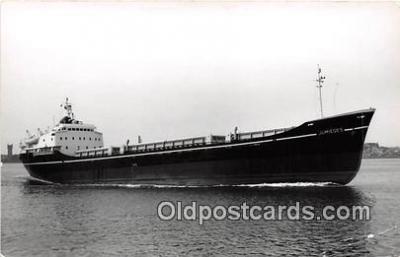 shi055034 - Jumieaes On Trials Rotterdam June Ship Postcard Post Card