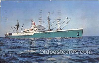 shi055100 - Alcoa Venezuela Ship Postcard Post Card
