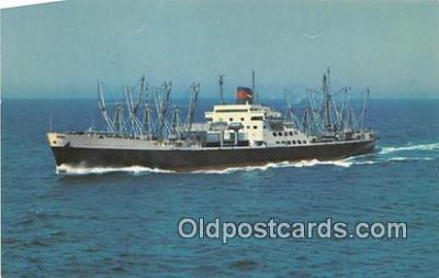 shi055106 - American President Lines SS President Lincoln Ship Postcard Post Card