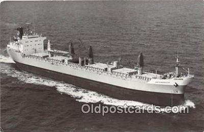 shi055127 - Drechtships NV Rotterdam Ship Postcard Post Card