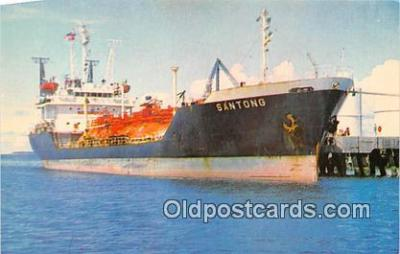 shi055140 - MS Santong Guam Ship Postcard Post Card