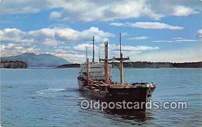 shi055148 - Alaska Steamship Company Kodiak Ship Postcard Post Card