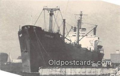 shi055188 - MV Toros Bay Coco's Island Merizo, Guam Ship Postcard Post Card