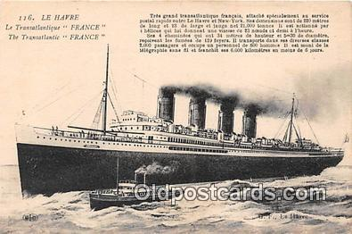 shi056140 - Le Havre France Ship Postcard Post Card