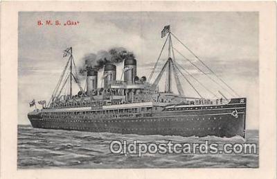 shi056150 - SMS Gaa  Ship Postcard Post Card