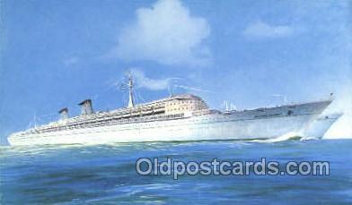 shi058442 - TN Michelangelo e Raffaello Ship, Ships, Postcard Post Cards