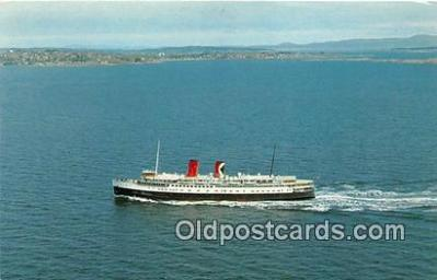 shi062090 - Princess Marguerite Canadian Pacific's British Columbia Ship Postcard Post Card