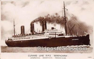Cunard Line RMS Berengaria