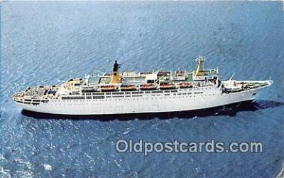 shi062236 - Doric Home Lines Ship Postcard Post Card