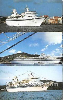 shi062296 - MS Song of Norway, MS Nordic Prince St Thomas, VI Ship Postcard Post Card
