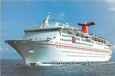 shi062320 - Fun Ship, Jubilee Carnival Cruise Lines Ship Postcard Post Card