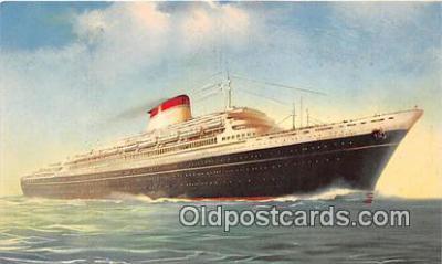 shi062367 - Leonard Da Vinci Nord America Ship Postcard Post Card