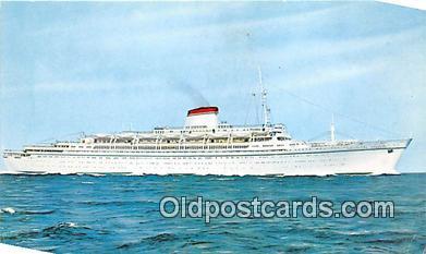 shi062368 - Cristoforo Colombo Nord America Ship Postcard Post Card