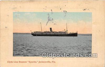 Clyde Line Steamer Apache
