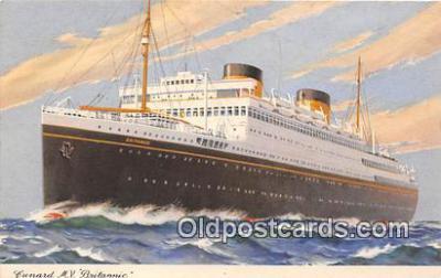 Cunard MV Britannic