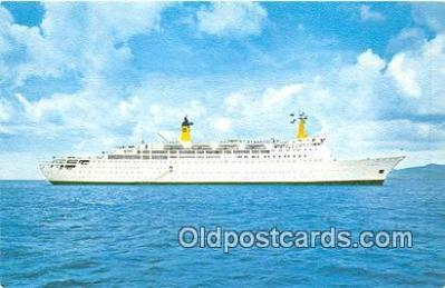 shi062461 - Doric Home Lines Ship Postcard Post Card