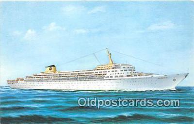 shi062464 - Oceanic Home Lines Ship Postcard Post Card