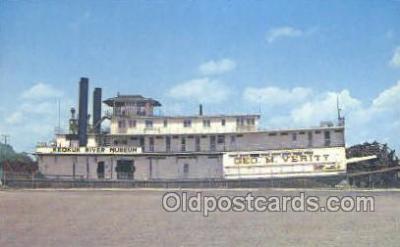 shi075163 - Geo M Verity Ferry Boats, Ship, Ships, Postcard Post Cards