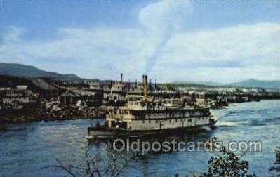 shi075171 - Paddlewheelers SS Keno Ferry Boats, Ship, Ships, Postcard Post Cards