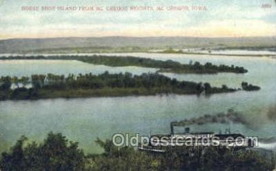 shi075256 - Mc Gregor, Iowa, USA Ferry Boats, Ship, Ships, Postcard Post Cards