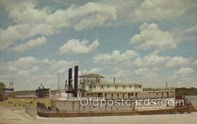 shi075288 - Geo M Verity Ferry Boats, Ship, Ships, Postcard Post Cards