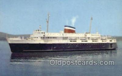 shi075307 - Car Ferry Bluenose Ferry Boats, Ship, Ships, Postcard Post Cards