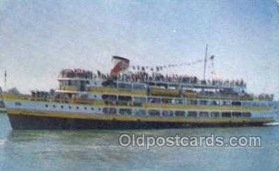 shi075311 - SS Mount Vernon Ferry Boats, Ship, Ships, Postcard Post Cards