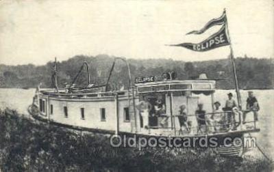 shi075657 - Eclipse Steamer, Steam Boat, Steamboat, Ship, Ships, Postcard Post Cards