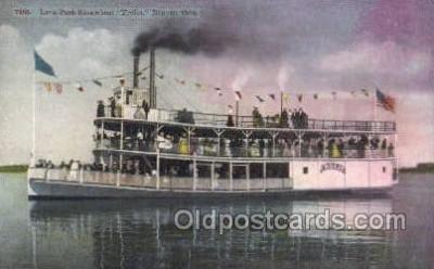 shi075676 - Frolic Steamer, Steam Boat, Steamboat, Ship, Ships, Postcard Post Cards