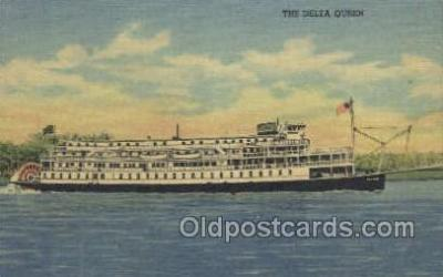 shi075684 - Delta Queen Steamer, Steam Boat, Steamboat, Ship, Ships, Postcard Post Cards