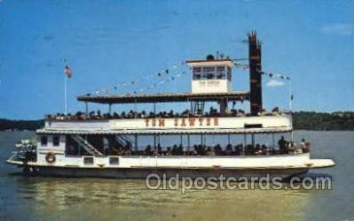 shi075698 - Tom Sawyer Steamer, Steam Boat, Steamboat, Ship, Ships, Postcard Post Cards