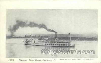 shi075705 - Island Queen Steamer, Steam Boat, Steamboat, Ship, Ships, Postcard Post Cards
