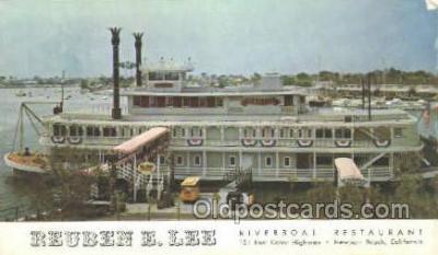 shi075711 - Reuben E Lee Steamer, Steam Boat, Steamboat, Ship, Ships, Postcard Post Cards