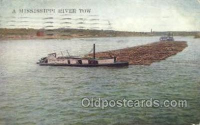 Mississippi River tow