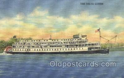 shi075730 - Delta Queen Ferry Boat, Ferries, Ship, Ships, Postcard Post Cards