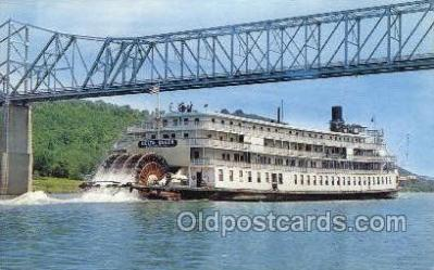 shi075733 - Delta Queen Ferry Boat, Ferries, Ship, Ships, Postcard Post Cards