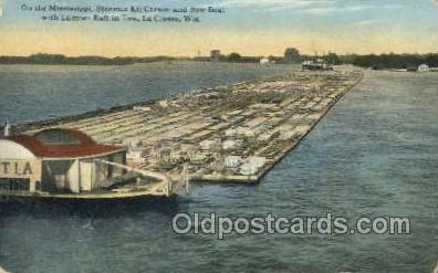 shi075747 - Kit Carson, La Cross, Wis, USA Ferry Boat, Ferries, Ship, Ships, Postcard Post Cards