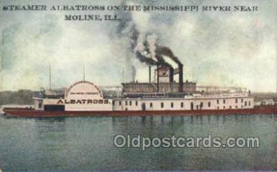 shi075759 - Steamer Albatross Ferry Boat, Ferries, Ship, Ships, Postcard Post Cards