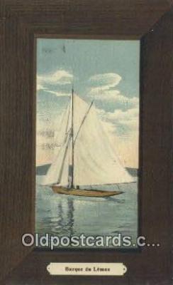 Barque De Leman