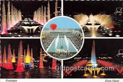 Fountains Ship Postcard Post Card